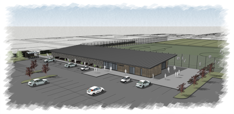 Blackpool Airport Enterprise Zone sports facilities - aerial view (002).jpg